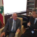 #EnviadoEspecial sostuvo encuentro muy productivo con el Ministro de Asuntos Sociales de Líbano, Sr. #RashidDerbas. https://t.co/ZcfOYxSeDz