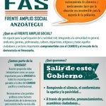 FAS #FrenteAmplioSocial #Anzoategui #SinTregua Juntos con presión popular en la calle y comprometidos con el cambio. https://t.co/TyQJCTU9kN