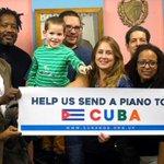 #Bloqueo #EEUU impide donación de piano a conservatorio en #Cuba X grupo de cubanos en GB https://t.co/AL6t4J7Hzi https://t.co/jUitIyILC4