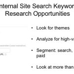 Segment internal site search for better analysis (search, direct, referral, paid) -@MartinWeinberg #DSPhilly16 #seo https://t.co/dhyJlDqxPL