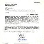 #ÚLTIMO Resp. #Gobierno a #FENCOMIN para reinstalar diálogo bajo previa suspensión definitiva de medidas de presión https://t.co/wvBw0ij477
