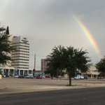Rainbow over Odessa following Wednesday morning showers. https://t.co/SP7my2tEUk