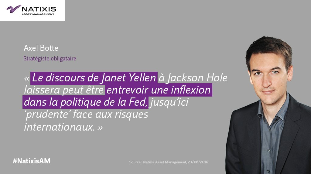 RT @NatixisAM: [Invest Pro] Les investisseurs attentifs à un possible changement de stratégie de la #FED > https://t.co/79KMU3Zab7 https://…