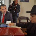#AHORA Relator de la Libertad de Expresión de la @CIDH , Edison Lanza se reúne con ministra Paco. https://t.co/W8T1zK4466