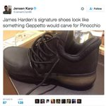 Leaked images of James Hardens 1st signature sneaker, the Adidas Harden 1 have surfaced.. https://t.co/SD26jiMoUw https://t.co/xEgoTqMp8V