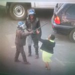 Senior journalist Lucy Yasini is assaulted by police as she covers MDC Youths protest in Harare. https://t.co/QkPi1z42VJ