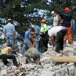 Voices under the rubble after quake hits Italy, leaving dozens dead: https://t.co/nlQXi4VghO https://t.co/tDE7XIHLDU