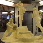 2016 #NYSFair #buttersculpture revealed! https://t.co/2OdV3QEQuF