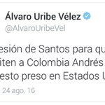 Me encanta la coherencia de Uribe en su combate contra la impunidad: https://t.co/j9sXKeRD5o