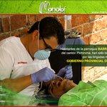Nuestras #BrigadasMédicas benefician a la población de Barraganete con atención d calidad y calidez #UnidosPorManabí https://t.co/IPNtkCwyvV
