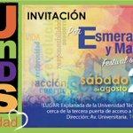 27 de agosto, toda la #JuventudSolidaria a #Portoviejo Festival por Manabí y Esmeraldas! @MashiRafael @LidiceLarrea https://t.co/twPe4E4GAo