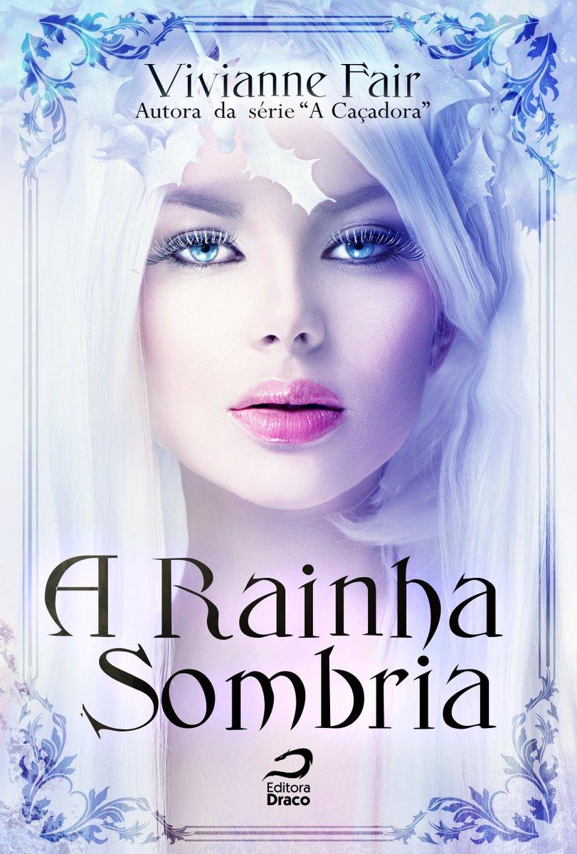 Capa Rainha Sombria que será lançado na bienal de SP pela editora Draco! <3 Sexta dia 2, às 17h! Esteja lá, hein? ;) https://t.co/YCullccwbM