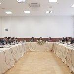 Con medios internacionales hablamos sobre agenda de reactivación económica y rol @AsambleaEcuador en elecciones 2017 https://t.co/2mxEsRyk2b