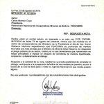 #Bolivia Quintana culpa a los cooperativistas por la ruptura del diálogo https://t.co/NDImivIV0Q https://t.co/CA7paURC9V