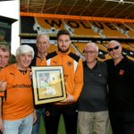 Congrats to LW 2015-16 Player of the Season @OfficialWolves @mattdoherty20 presented b4 the EFL 2-1 win Tx @RICO2621 https://t.co/KWMGPA6bvy