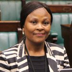 This is Adv #BusisiweMkwebane she had been nominated to replace @ThuliMadonsela3 as #PublicProtector https://t.co/1tCcjeZ7dB
