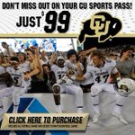 Step 1: Tell Mom & Dad the CU Sports Pass is $175 & you want one Step 2: Use the extra $76 to buy pregame supplies https://t.co/SKRzLGnTKq