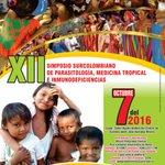 @CarmenEmiliaESE invita al XII Simposio Surcolombiano de Parasitología, Medicina Tropical e Inmunideficiencias. https://t.co/iWRgQ7fQLb