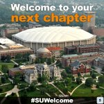 Its move-in day at Syracuse University. Welcome to all the new @SyracuseU students! #SUWelcome https://t.co/ZnAnZod5fx