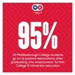 Just one of the many reasons you should enrol here at Middlesbrough College! #success #education #results https://t.co/MpYx91873j