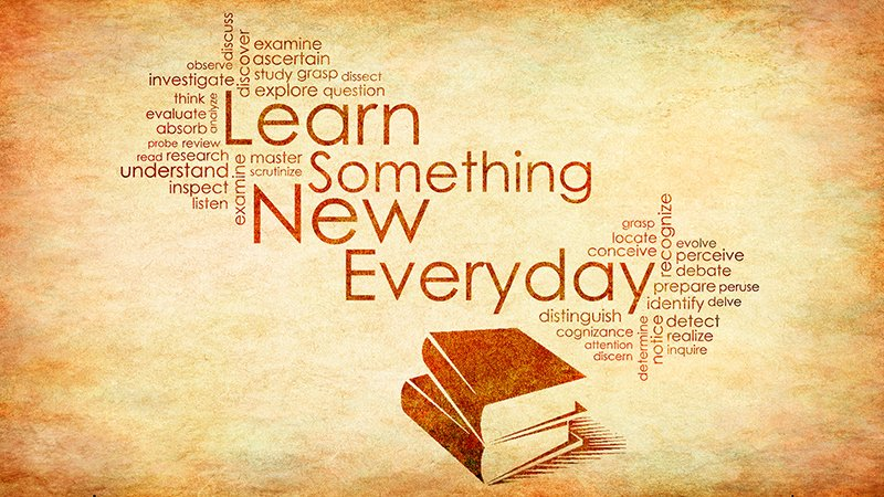 If you aren't learning, you are coasting. Find 20 minutes daily to learn something new.  #WednesdayWisdom https://t.co/fPnPG3G1WG
