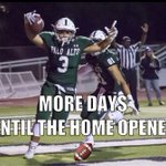 The countdown is on. 3 days until the Football Home opener! #GREENOUT #GoVikings https://t.co/ZuUyIX26kv