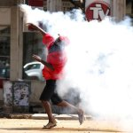 UPDATED: Zimbabwe police use teargas to disperse protest march over police action https://t.co/HgzOpQ3ux2 https://t.co/NwIYSDHKyX