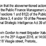 (1) So the charges being pursued against Gordhan by the Hawks, appear to be, how shall I say, bizarre. https://t.co/ixxF8oUvTD