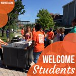 #SUWelcome is here! 🍊🍊 Share your photos with #SUWelcome, and you may see them here: https://t.co/4odgUy09Pn https://t.co/gpuNErqdPc