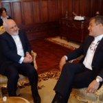 Mandatario @MashiRafael recibe la visita de @JZarif, Ministro de Relaciones Exteriores de Irán https://t.co/cHT3rovMsT
