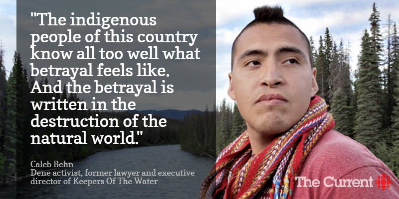 With Site C Dam, Trudeau betrays commitment to First Nations, says @CalebBehn  Listen: https://t.co/gRHmXacMyR https://t.co/Y6vghbijs3