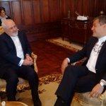 El Compañero Presidente @MashiRafael recibe a @JZarif, Ministro de Relaciones Exteriores de Irán. #EcuadorEnTusManos https://t.co/9qZCx7RyxQ