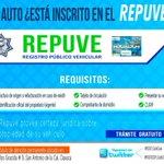 El #REPUVE es una herramienta que facilita la ubicación de los automóviles en caso de robo. #Oaxaca @GobOax https://t.co/wYahNTFS3u