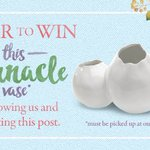 Win the Barnacle Vase! 💛 Follow us + RT to be entered! Winner will be selected Sept. 7. #Giveaway #OKC #HomeDecor https://t.co/VGqFo2o2T1