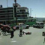 #ReporteTumbaqueño Se registró un accidente de tránsito en el sector La Villavega. https://t.co/oO6MxDPPdN