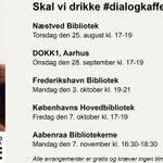 Tid til #dialogkaffe? Like os her: https://t.co/XIIz8TykFS @cekicozlem @JulieBossow #ForeningenBrobyggerne #dkpol https://t.co/sLjErrOdf0