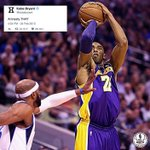 Mark Cuban once suggested the Lakers should amnesty Kobe. Kobe dropped 38 pts, 11 reb, 7 ast in next Mavs game. https://t.co/4ZJsNonEeB