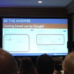 Google no longer wants to be the middle man 2 the link. Google wants 2 be the answer #SEO @SearchDecoder #DSPhilly16 https://t.co/6M8LUiAmfa