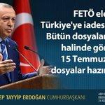 CB: FETÖ elebaşının Türkiyeye iadesi esastır. Bütün dosyaları 85 koli halinde gönderdik. https://t.co/3pVilXCUeD