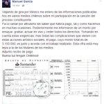 Manuel García y sus manos limpias. Y ni hablar de las veces que ha tocado gratis para las marchas estudiantiles. https://t.co/kAEmPycxuL