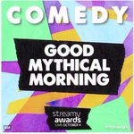 Well, this is pretty wonderful. Thank you, @streamys and Mythical Beasts!! #streamys https://t.co/MbGNpiU3I0