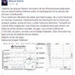 Bien que Manuel García aclare el asunto, faltó averiguar un poco más coleguitas. https://t.co/IVOXXe6QHQ