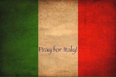 I am so sorry to hear about the earthquake in Italy. My thoughts are with you all. Xoxo