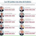 #NoHayUnPutoPeso by #NelsonPizarro presidente ejecutivo de #Codelco @Codelco_Chile pero si hay para estos personajes https://t.co/c4hdlBgB6A