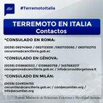 Estos son los canales que dispone la Cancillería para atención de #ecuatorianos en #Italia https://t.co/5jjuL93eLs https://t.co/ez8lXs1L63