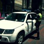 SANCIÓN a vehículos mal parqueados en el centro histórico de #Quito | Sucre y García Moreno. https://t.co/BWvnzmK2Eo