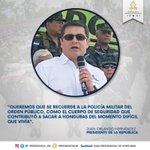 La @PMOP016 tiene presencia permanente en más de 24 zonas intervenidas, ha ayudado a bajar criminalidad en #Honduras https://t.co/b4NPT9iaOg