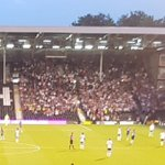 Middlesbrough fans at Fulham tonight  #Boro #Borolive https://t.co/HVlYqMIAxb