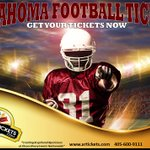 https://t.co/Pfvvu055EI for #oklahoma #sooners football tickets today! For group purchases, call 405-600-9111 #xrtix https://t.co/7h0Db5IF5V