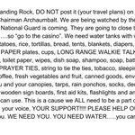 for anyone planning to join the #NoDAPL protest in North Dakota: please do not post about your travel plans. share https://t.co/IkMN85K1z1